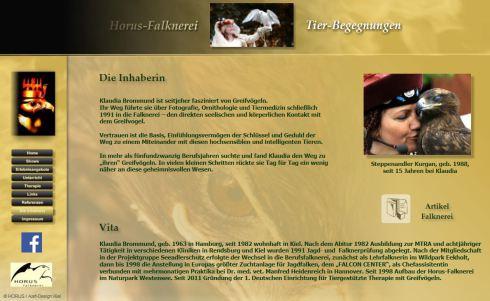 Auch Horus-Falknerei